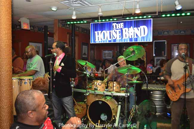 Junie Performing With House Band