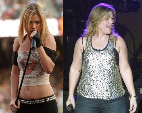 Kelly Clarkson Then And Now Kelly Clarkson Won't B...