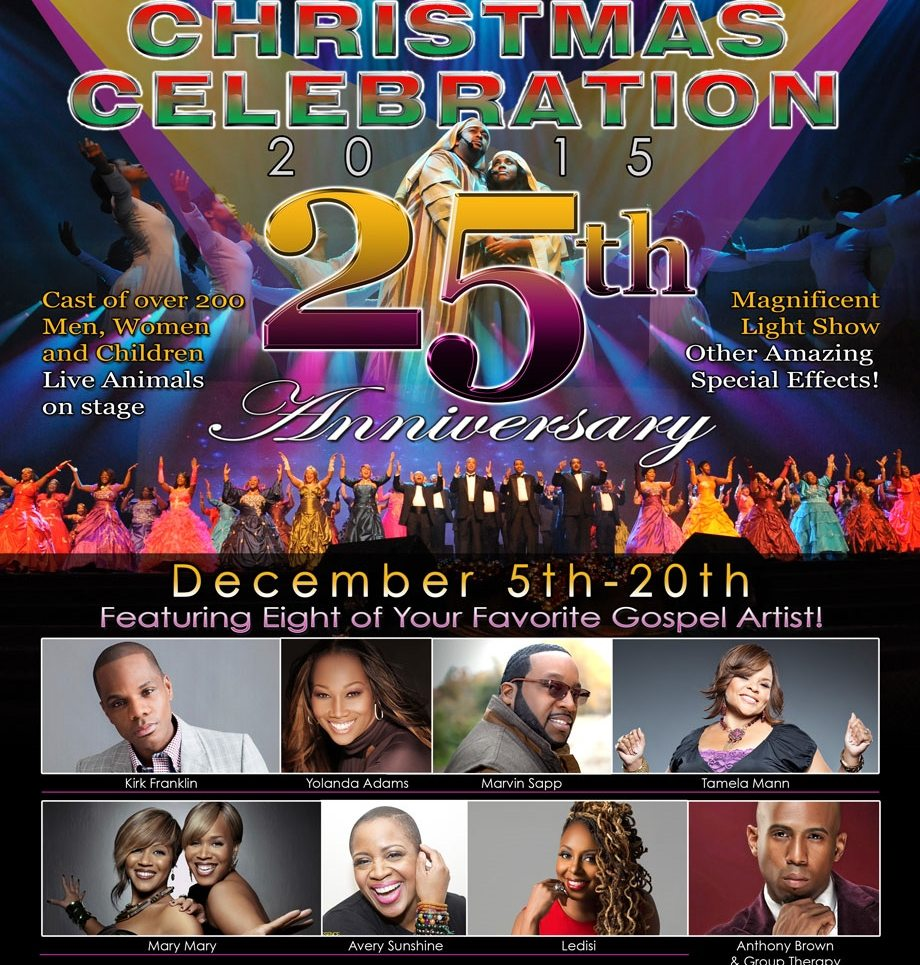 CHRISTMAS CELEBRATION 2015 - 25th Anniversary - DC Nitelife