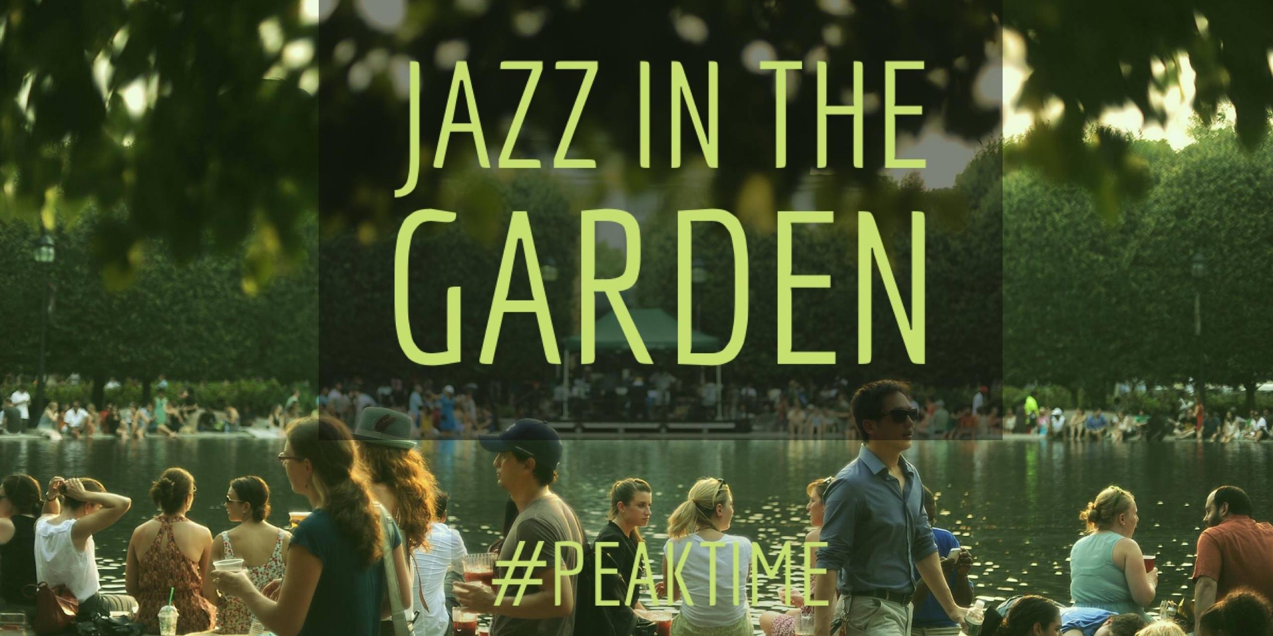 Jazz In The Garden W Moishe House Cohi May 19th Dc Nitelife