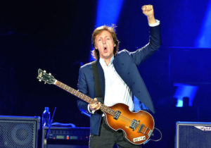 LONDON ENGLAND MAY 23 STRICTLY EDITORIAL USE ONLY Sir Paul McCartney Performs Live On Stage At The O2 Arena May 2015 In London England