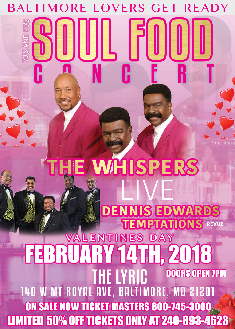 valentines day 70 s and 80 s soul food concert   dc nitelife