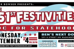 The 51st Festivities DC for Statehood
